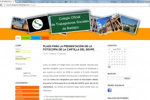 Colegio Oficial de Trabajadores Sociales de Badajoz